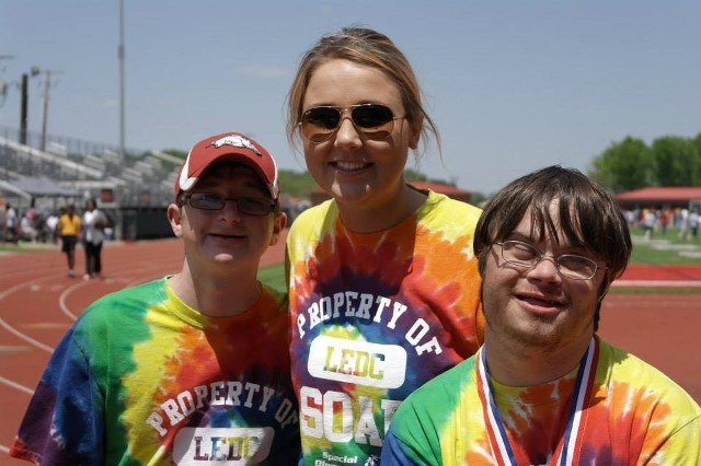 Special Olympics Racers